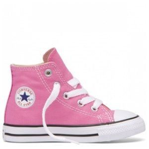 🔴 Converse All Star Pink Toddler Hi Tops Sneakers